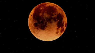 Lunar Eclipse 2021 Date, Time and Live Streaming Details: Here's How to Watch the Super Flower Blood Moon in India; Everything You Need to Know