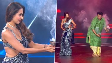Malaika Arora Gets Mercilessly Trolled for Attempting the Dhunuchi Dance on the Sets of Super Dancer 4 (Watch Video)