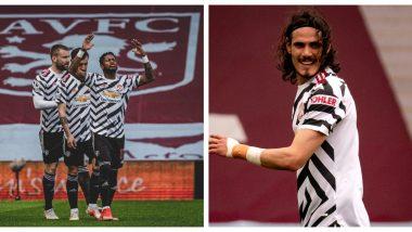 Edinson Cavani, Bruno Fernandes, Mason Greenwood & Others React After Manchester United Registers 3-1 Win Over Aston Villa in EPL 2021
