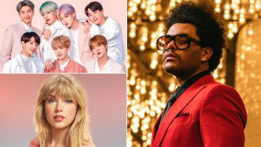 Billboard Music Awards 2021 Winners: The Weeknd, BTS, Taylor Swift Bag Honours, Check Out the Complete Winners List