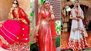 Indian Bridal Look Ideas: From Hina Khan, Surbhi Chandna to Erica Fernandes, Take Inspiration From Pretty TV Actresses for Your Wedding Day