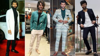 Vijay Deverakonda Birthday: He's the Poster Boy of the Cool and Casual Fashion (View Pics)