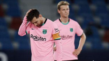 Barcelona Scripts a Couple of Unwanted Records After 1-2 Loss Against Celta Vigo in La Liga 2021-22
