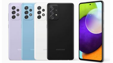 Samsung Galaxy A52 5G Phone Likely To Be Launched in India Soon
