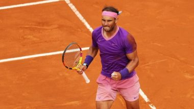 Rafael Nadal Wins Italian Open 2021, Beats Novak Djokovic 7-5, 1-6, 6-3 in Final