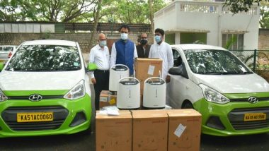 India News | COVID-19: Karnataka Deputy CM Launches 'O2 for India' to Provide Doorstep Delivery of Oxygen Concentrators