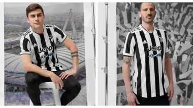 Juventus' New Home Kit for 2021-22 Season Gets a Thumbs Up From Fans (Read Tweets)