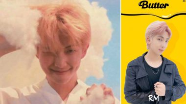 BTS Star RM's New Pink Hair Pics From a Promotional Video of Butter Goes Viral! ARMY Cannot Keep Calm