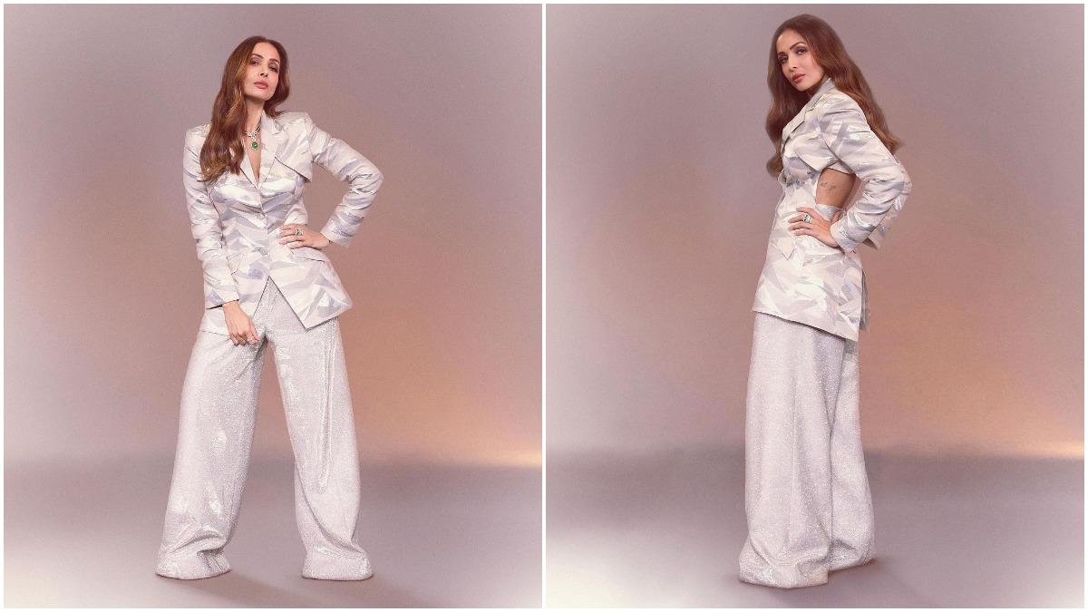 Malaika Arora's Oversized Pantsuit Looks Bold, Bawsy And Breathtaking (View Pics) – Socially Keeda