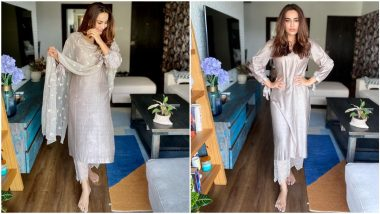 When Surbhi Jyoti Ditched all the Vibrant Hues and Picked this Stunning Earthy Shade for Her Summer Fashion