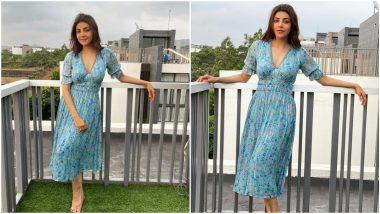 Yo or Hell No? Kajal Aggarwal's Floral Midi Dress By Verb