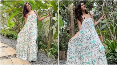 Yo or Hell No? Karishma Tanna's Maxi Dress By Payal Singhal