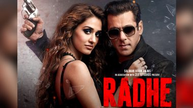 Watch Radhe Online: Here's How You Can Watch Salman Khan-Disha Patani's Film on ZEEPlex From the Comfort of Your Home!