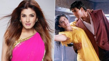 Raveena Tandon Is in Love With the Pakistani Dhol Remix of Her Song Tip Tip Barsa Paani (Watch Video)