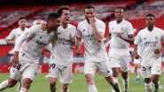 Real Madrid Beat Athletic Club 1-0 in La Liga 2020-21 Match, Nacho Scores Lone Goal