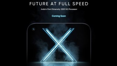 Realme X7 Max 5G Teased on Official India Website, To Feature MediaTek Dimensity 1200 SoC