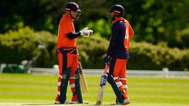 Live Cricket Streaming of Netherlands vs Ireland 2nd ODI 2021: Watch Free Telecast and Live Score of NED vs IRE Match on FanCode