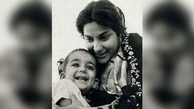 Sanjay Dutt Remembers Mother Nargis by Sharing a Childhood Picture on Her 40th Death Anniversary