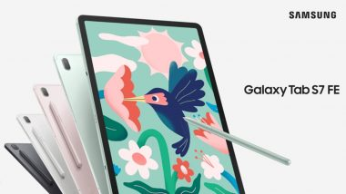 Samsung Galaxy Tab S7 FE & Galaxy Tab A7 Lite Unveiled Globally