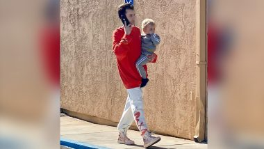 Cole Moscatel Spotted Shopping in LA with Son Zayden