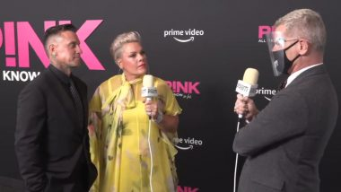 Pink Recalls Being Kissed by Christina Aguilera While Playing Spin the Bottle With the 'Fighter Singer' (Watch Video)