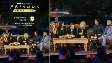 Friends The Reunion Records Over 1 Million Views Across India