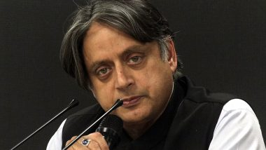 Shashi Tharoor Conveys Condolences to the Family of Soumya Santosh, the Kerala Woman Killed in Israel After Palestine Rocket Fire