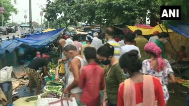 West Bengal: Social Distancing Norms Flouted, No COVID-19 Protocols Followed At Siliguri Market