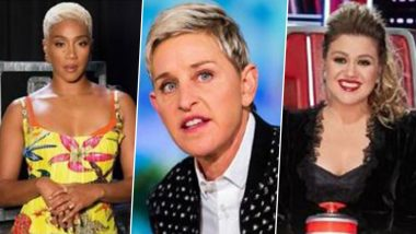 Ellen DeGeneres' Replacement in Works by NBC; Kelly Clarkson, Tiffany Haddish Are Frontrunners