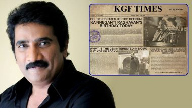 KGF Chapter 2: On Rao Ramesh's Birthday, Makers of Yash-Starrer Unveils the Look of Actor As Kanneganti Raghavan! (View Pic)