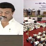 MK Stalin Takes Oath as Chief Minister of Tamil Nadu, DMK Chief Administered Oath by Governor Banwarilal Purohit (See Pics)