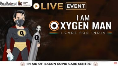Bada Business to Conduct Fundraiser Campaign #IamOxygenMan on May 16 With Actor Vivek Oberoi to Provide Healthcare Facilities to the Needy and Underprivileged