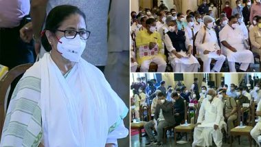 West Bengal Cabinet Expansion: CM Mamata Banerjee Expands Cabinet, 43 TMC Leaders Sworn-In As Ministers (See Pics)