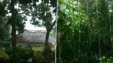Cyclone Tauktae Brews in Arabian Sea, Parts of Kerala Receive Heavy Rainfall; Orange Alert Issues in Idukki, Kottayam and Several Other Districts
