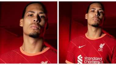 Liverpool Releases New Home Kit Inspired by 60s After Sealing a Spot in Champions League 2021-22 (Watch Video)