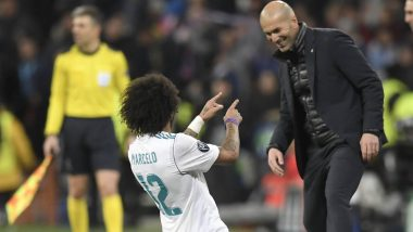 Zinedine Zidane Denies Reports of On-Ground Spat With Marcelo, Says 'He Had Some Discomfort'