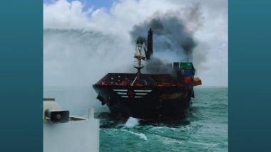 Sri Lanka Begins Criminal Probe on Burning X-Press Pearl Container Ship; Questions Captain, Chief Engineer and Crew