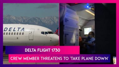 Delta Flight 1730 From Los Angeles To Atlanta Sees Terrifying Moments As Crew Member Threatens To 'Take Plane Down