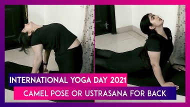 International Yoga Day 2021: Camel Pose Or Ustrasana For Improving Your Posture