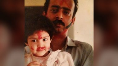Father's Day 2021: Rhea Chakraborty Shares Adorable Childhood Pic With Dear Papa, Says 'You Are My Resilience, You Are My Inspiration'