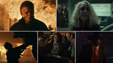 Halloween Kills Trailer: Not Even a Burning House Can Keep Michael Myers Down in This Horror Flick (Watch Video)
