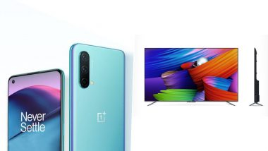 OnePlus Nord CE 5G & OnePlus TV U1S Launching Today in India, Watch LIVE Streaming Here