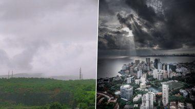 Mumbai Rains: Mumbaikars Share Pics to Welcome Southwest Monsoon as City Gets Heavy Rainfall
