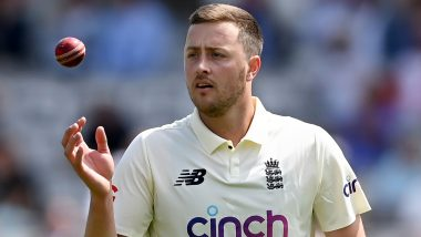Ollie Robinson, England Bowler, Suspended From International Cricket For Abusive Tweets