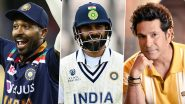 Happy Father's Day: From Virat Kohli to Sachin Tendulkar, Here Is What Cricket Stars Posted on This Special Day