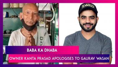 Baba Ka Dhaba: Owner Kanta Prasad Apologises To Gaurav Wasan, The Youtuber Who Helped Him, After Restaurant Closes Down
