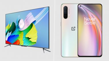 LIVE News Updates: OnePlus Nord CE 5G Launched in India Starting at Rs 22,999; OnePlus TV U1S Priced From Rs 39,999