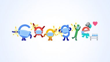 Covid Vaccine Google Doodle Urges People to Get Their Jabs As India Records Administering Highest COVID-19 Vaccination Doses in One Day