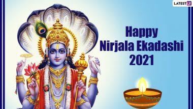 Nirjala Ekadashi 2021 Images & HD Wallpapers for Free Download Online: Wish Happy Nirjala Ekadashi With Best Greetings, WhatsApp Messages and SMS on Gyaras