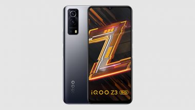 iQOO Z3 5G With Snapdragon 768G SoC Launched in India; Check Prices, Features & Specifications